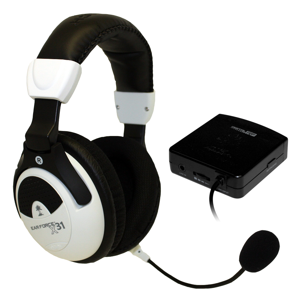 Turtle Beach® Announces Ear Force® X31 Stereo Wireless Digital RF ...