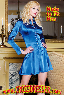 Crossdresser.com Releases their New Satin Dress Style Collection