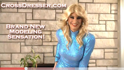 Crossdresser Fashion Model