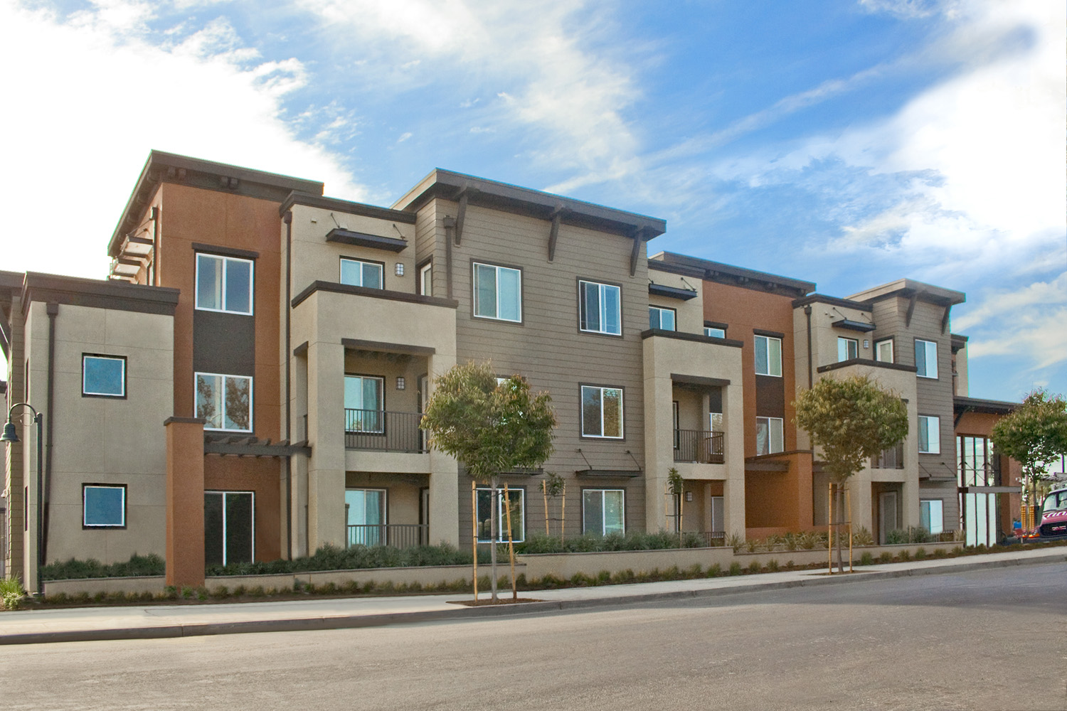 Ktgy designed green affordable family apartments opens in san jose by ktgy group - Houses family children modern economical ...
