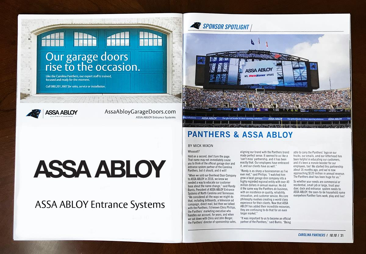 assa abloy entrance systems renews partnership with. Black Bedroom Furniture Sets. Home Design Ideas