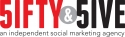 fifty_and_five_logo.