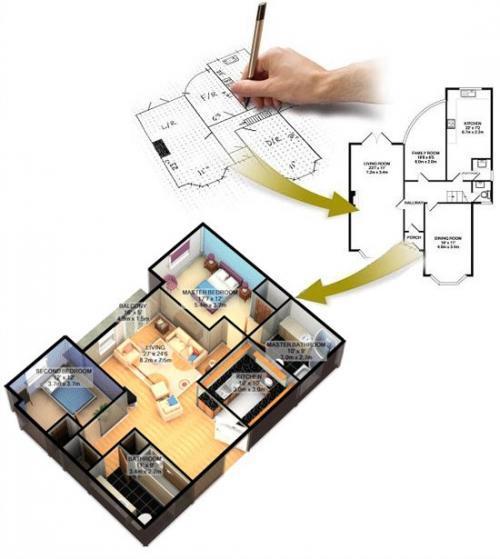 Дизайн интерьера 3d 2.31