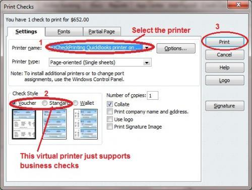 printing christmas bonus checks made easy with