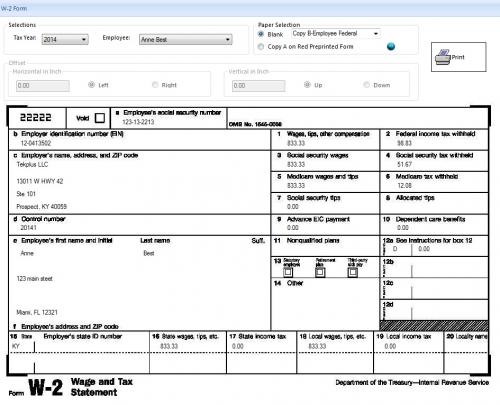 Differences Between IRS Forms W-2 and W-4